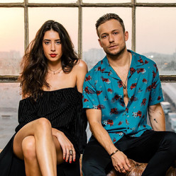 """Naika and Party Favor Promo shoot for """"Blame"""" Music Video Photography Credit: Mad Decent Record Label"""