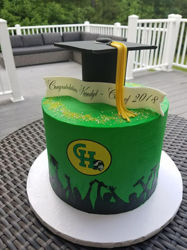 High School Graduate Cake with cap-1.jpg