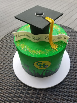 High School Graduate Cake with cap-2.jpg