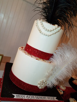 Old Hollywood Glam Dessert Table-6