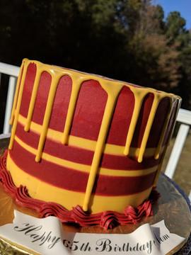 Redskins Inspired Drip Cake-2.jpg