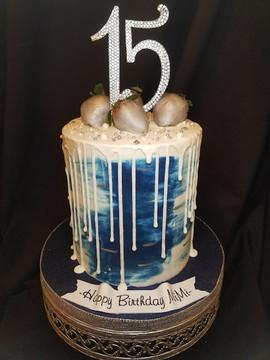 Denim Water Color Drip Cake.jpg