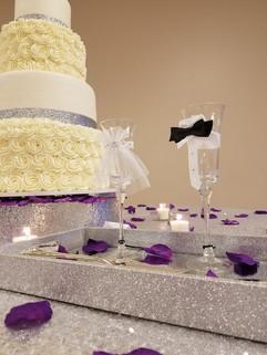 Rosette and Glitter Purple Wedding-6.jpg