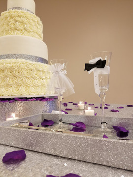Rosette and Glitter Purple Wedding-6.jpg