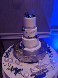 3-Tier Music Note Themed Wedding Cake.jp