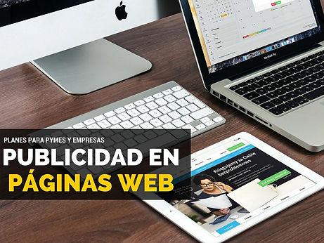 publicidad paginas web