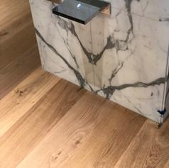 Bathroom wood floor miami