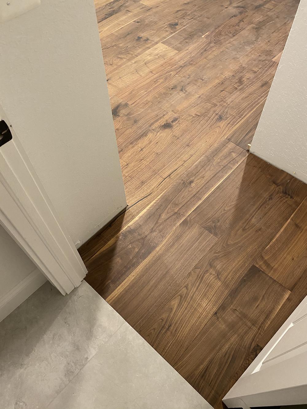 Brown walnut hardwood flooring trends 2021