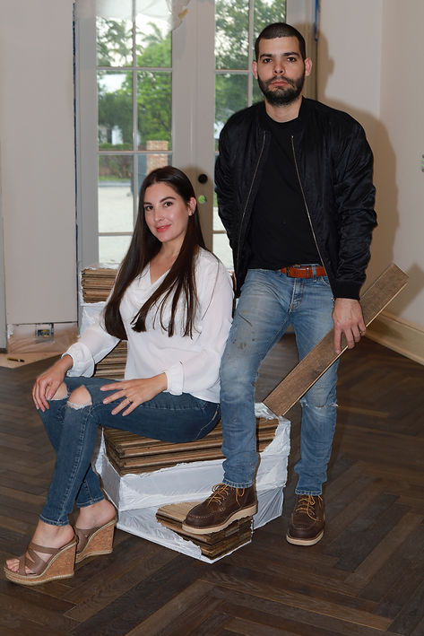 Founders of Best hardwood flooring installation service in Miami