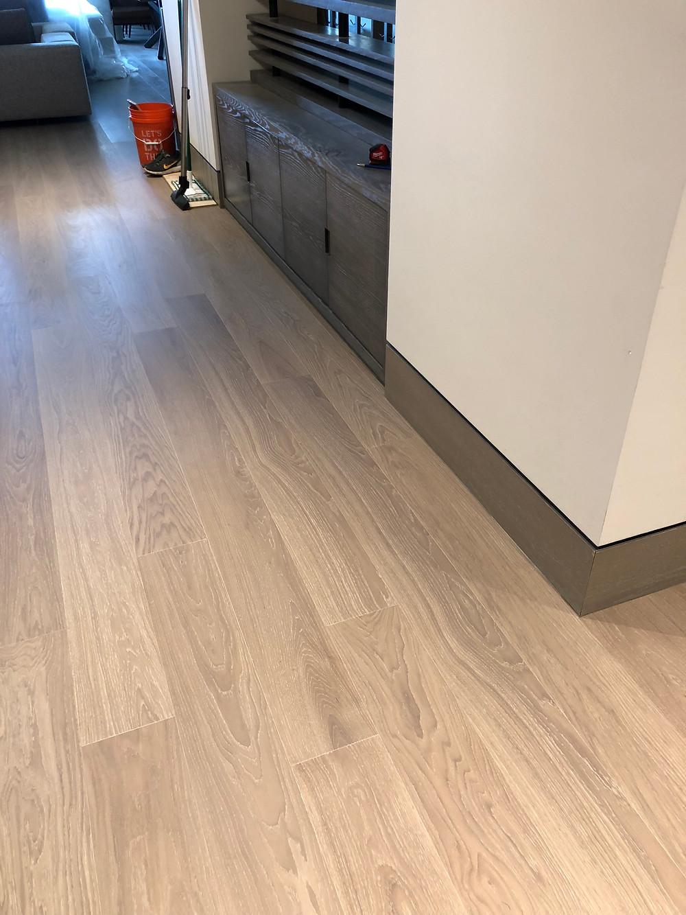 Pre finished white oak wood floors or unfinished white oak wood floors