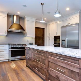 Luxury home interior boasts amazing kitc