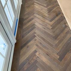 Herringbone floor miami
