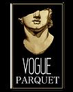 Vogue parquet hardwood flooring logo