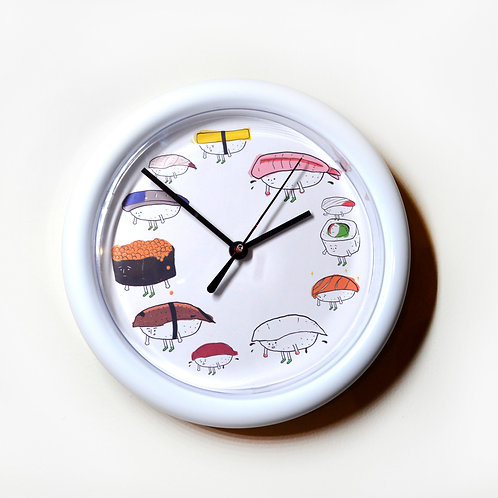 "Clock ""Sushi Platter"""