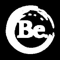 Be logo - white - transparent - 500x500.