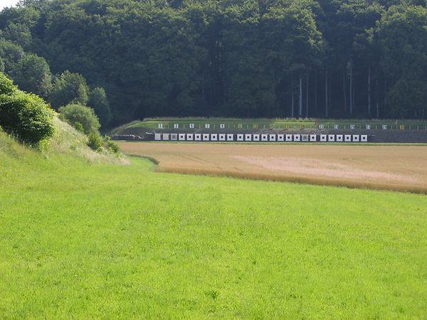 Cibles 300 mètres du stand de Vernand sur Lausanne
