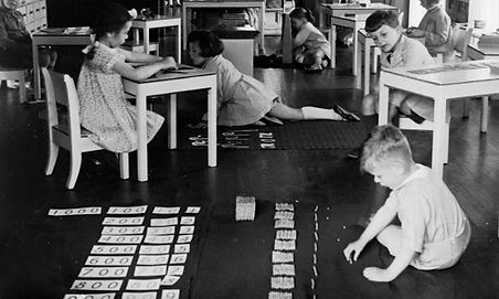 Maria Montessori classroom