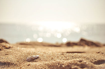 Foto del mar y la arena