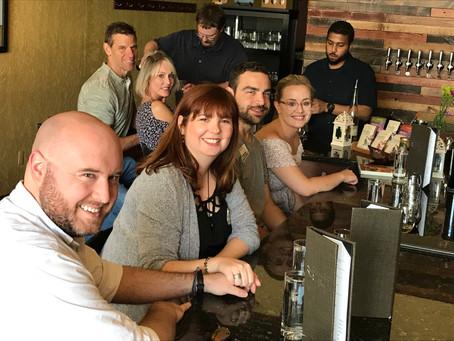 We had a Mead, Cider, Kombucha Tour...