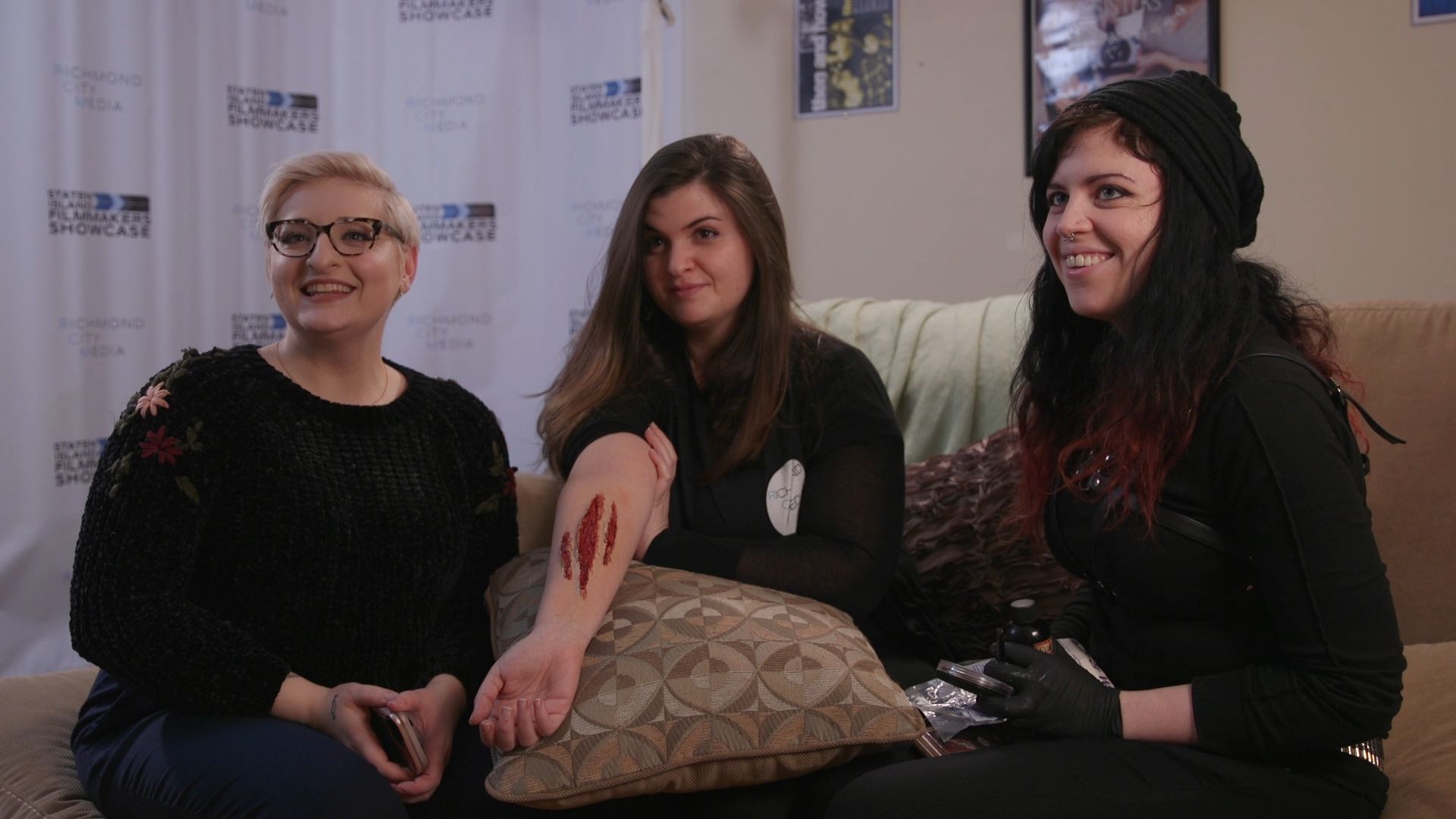Melissa, Gina, Beatrice