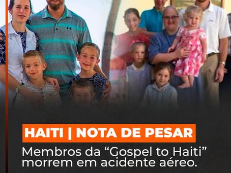 NOTA  DE PESAR | HAITI