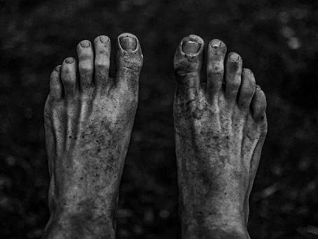 Lembro-me dos seus pés