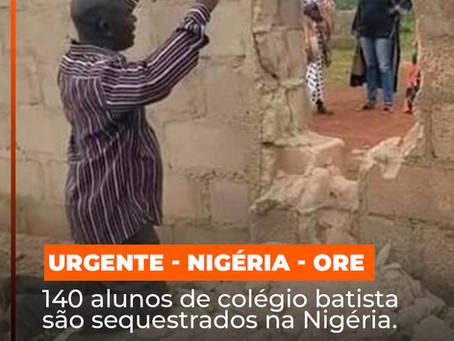 Sequestro em massa de estudantes cristãos na Nigéria