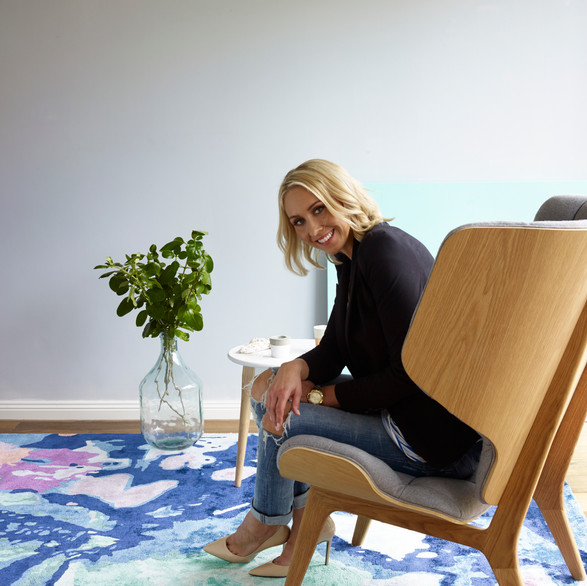 Katie McKinnon 'Art Series' designs for The Rug Collection.