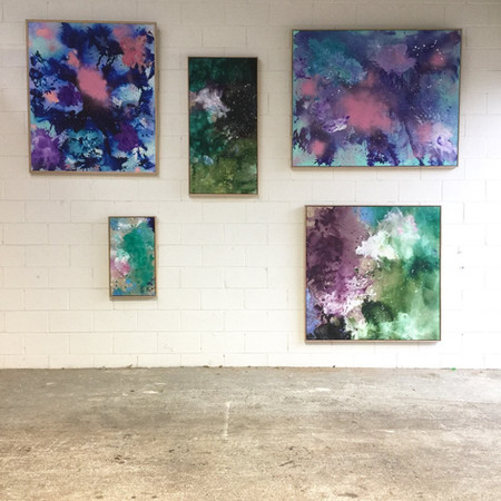 Installation view: FALLS, The Project Space Melbourne