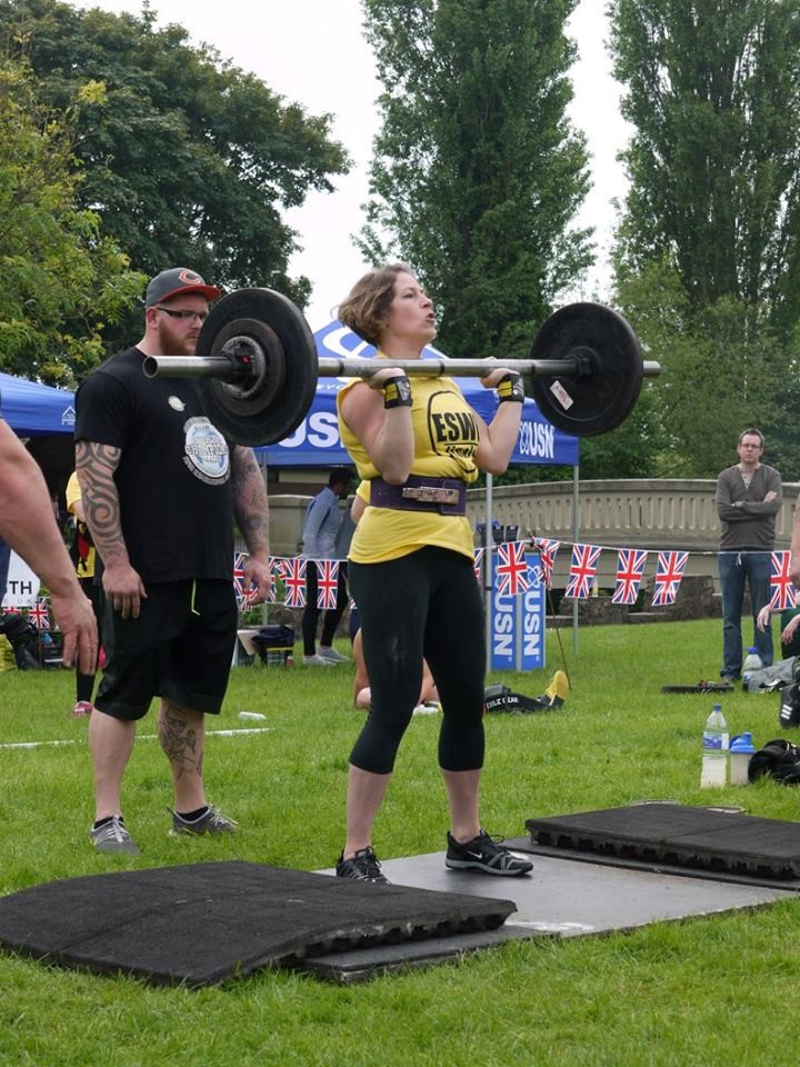 Zoe Thompson- Strongwoman