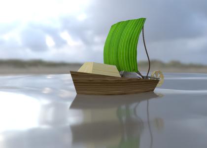 Ancient Wilds Miniboat