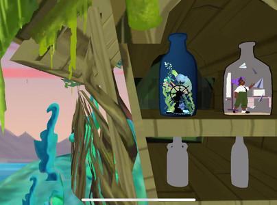 """Bottles"" Menu Screen"
