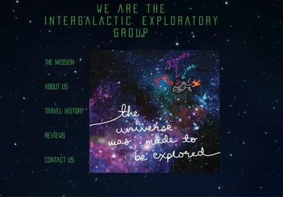 Intergalactic Exploratory Group Zine