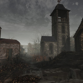 "Resident Evil 4 | Artista recria vila do jogo no morto gráfico ""Unreal Engine 4"""