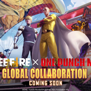 "Free Fire | Jogo terá crossover com anime ""One-Punch Man"""