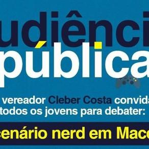 Audiência Pública | Discussão sobre o Cenário Nerd de Maceió