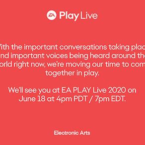 EA Play Live 2020   Evento é adiado para 18 de junho