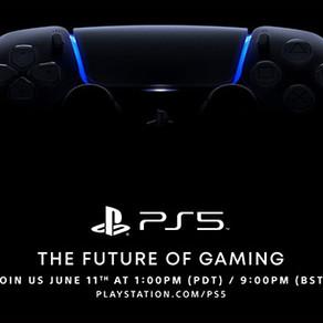 """PlayStation 5   """"The Future of Gaming"""" é agendando para 11 de junho"""