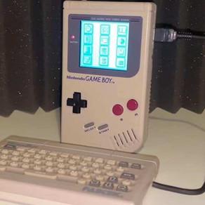 WorkBoy, um protótipo de teclado para Game Boy é encontrado 28 anos após projeto ser encerrado