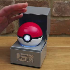 Pokémon Company e a The Wand Company lançam Pokébola decorativa que reage à interação com usuário