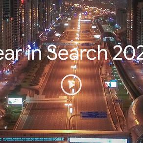 """Google revela seu """"Google's 2020 Top-Trending Searches"""", o ranking do que mais foi pesquisado no ano"""