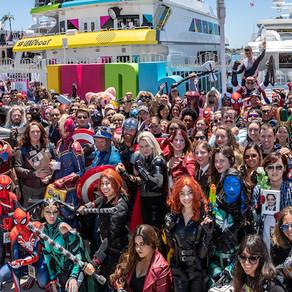 Fãs da Comic-Con de San Diego erguem um santuário para evento cancelado