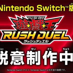 Yu-Gi-Oh! Rush Duel | Novo jogo da franquia está em desenvolvimento para Switch