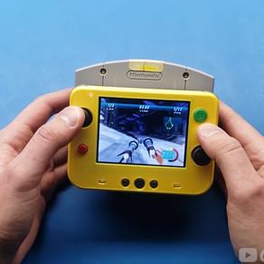 YouTuber cria menor Nintendo 64 do mundo que roda cartuchos originais do console