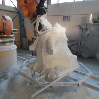 scultura testa