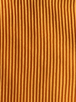 ORANGE RIBBED