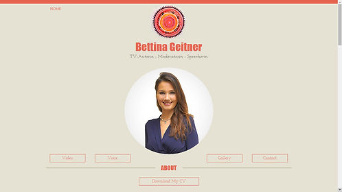 Bettina Geitner - TV-Autorin, Moderatorin, Sprecherin