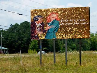 De campagne op billboards?