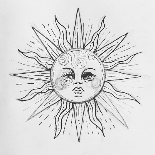 Sketch for the tired sun, 2019