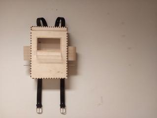A bag-shaped box